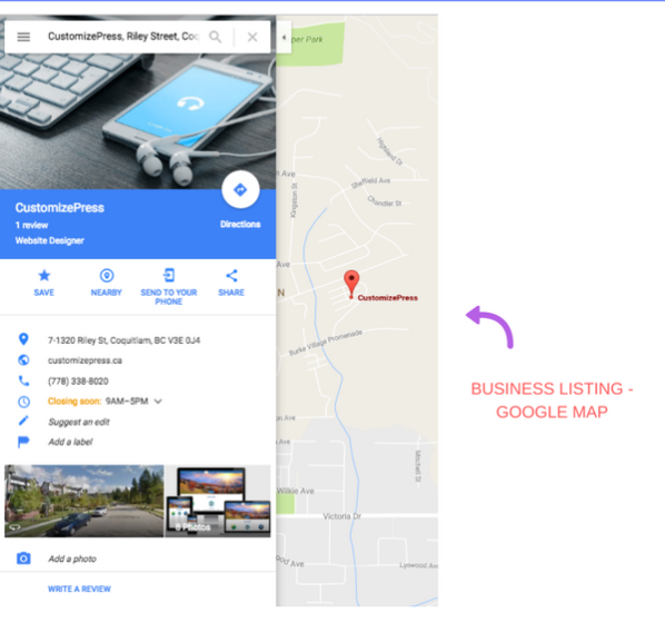 How To List Business On Google Map