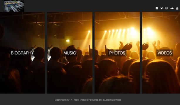 Music / Artist Website